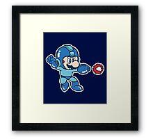 Mega Mario Framed Print