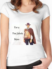 For a Few Jabots More Women's Fitted Scoop T-Shirt