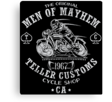 Teller Customs Canvas Print