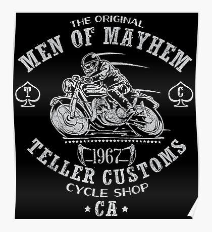 Teller Customs Poster