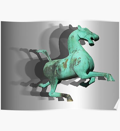 Galloping through the centuries Poster