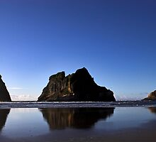 Archway Islands Reflection by Robyn Carter