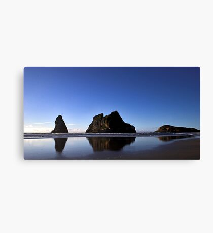 Archway Islands Reflection Canvas Print