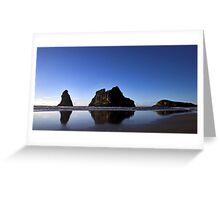 Archway Islands Reflection Greeting Card