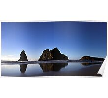 Archway Islands Reflection Poster