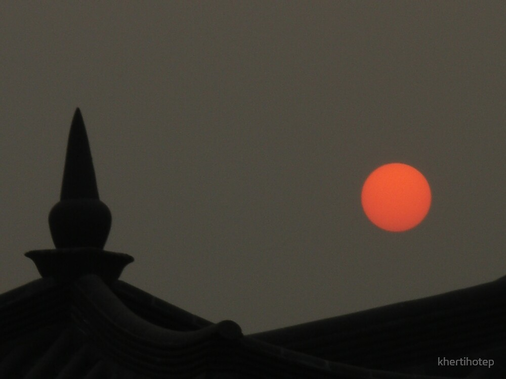 Chinese Sun by khertihotep