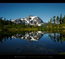 Washington  Unknown Mountain 2007 by psychedelicmind