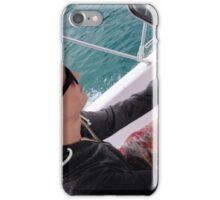 Chris in control, Lake Garda iPhone Case/Skin