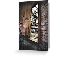 The Caustic Doorway Greeting Card