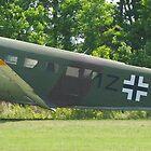 Junkers JU-52 Panorama by Robert Burdick
