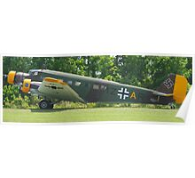 Junkers JU-52 Panorama Poster