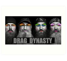 Drag Dynasty Art Print