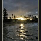 Dee Why Sunset by Alexey Dubrovin