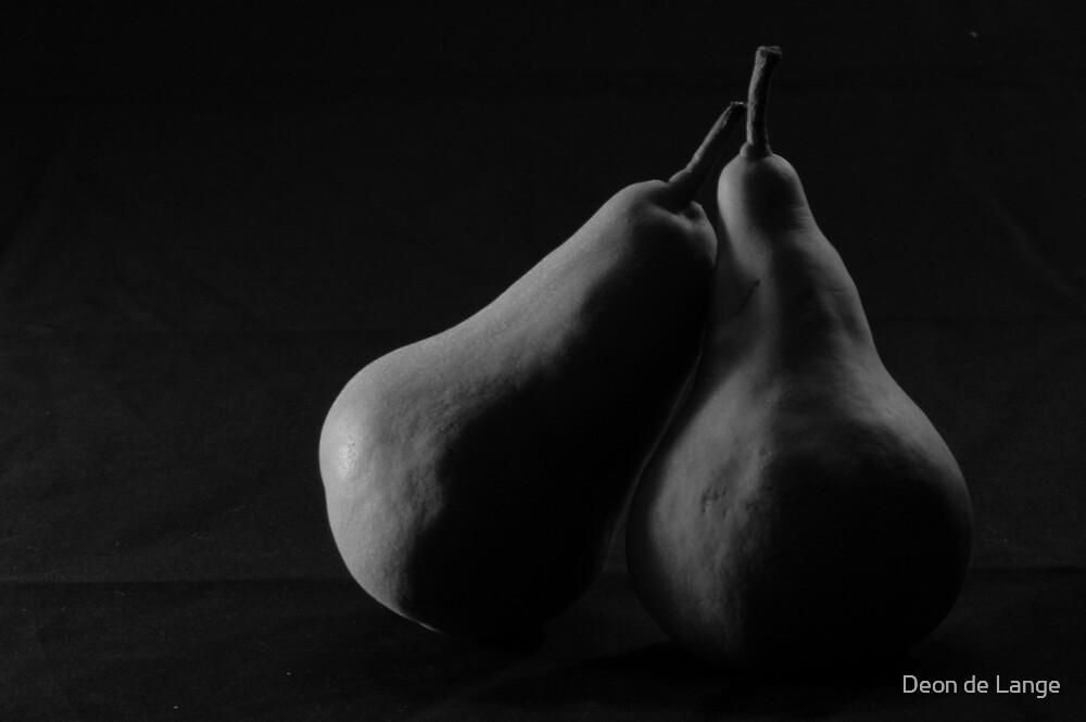 A pair of Pears by Deon de Lange