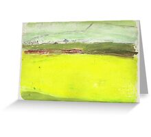 Canola Crop  Greeting Card