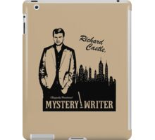 Richard Castle, Mystery Writer iPad Case/Skin