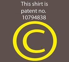Copyright Unisex T-Shirt