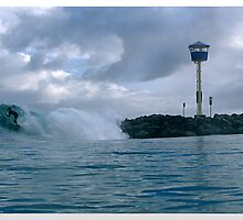 CIT BEACH BLUE WALL by Dors