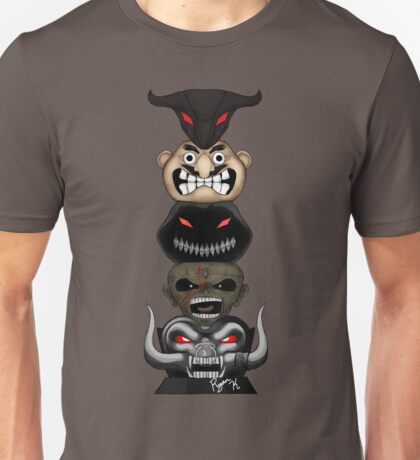 Totem of the Metal Mascots Unisex T-Shirt