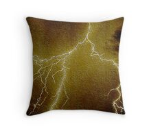 Static Electricity 2 Throw Pillow