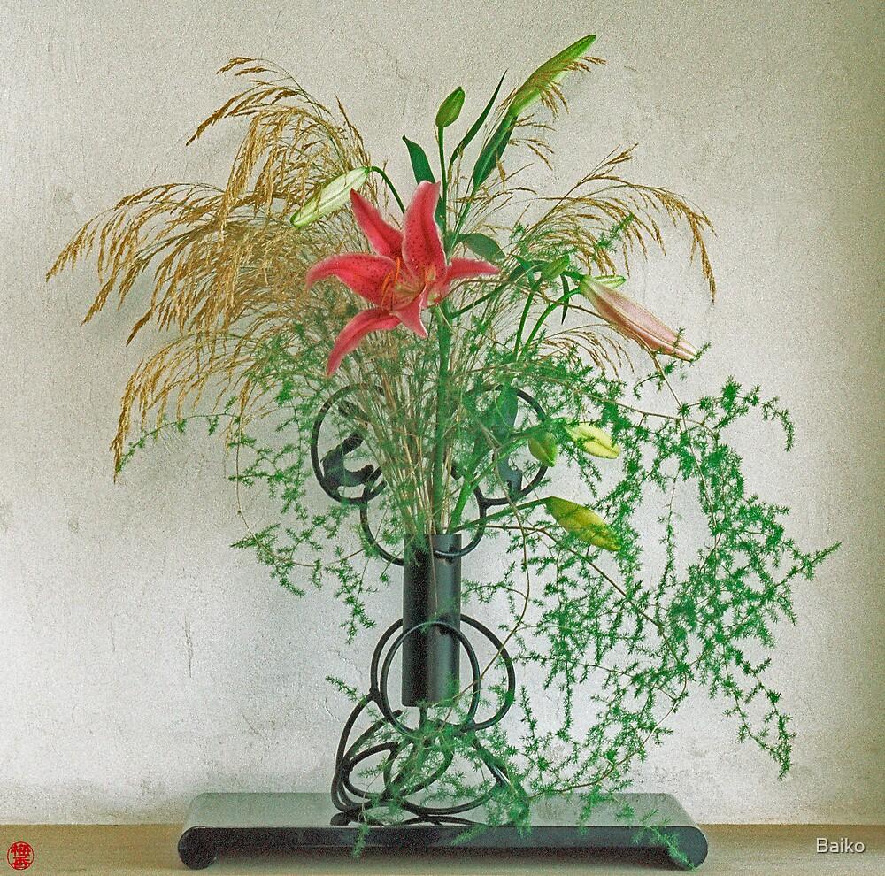 Ikebana-038 by Baiko
