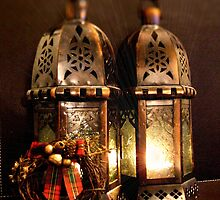 Christmas Lanterns by Coralie Alison