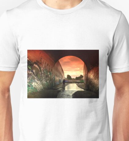 Those Toxic Outfall Sunsets... Unisex T-Shirt