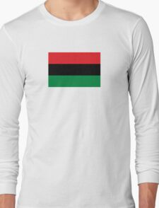Pan-African Flag  Long Sleeve T-Shirt