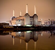 Battersea power  by Terence J Sullivan