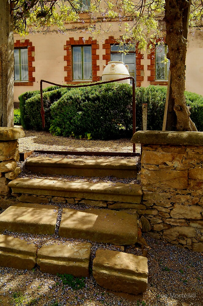 Villa Entrance by Joe Mortelliti