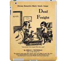 Emile Tepperman - Marty Quade - Dead Freight 3 iPad Case/Skin