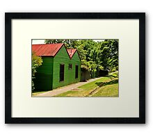 The Green House Affect !! Framed Print