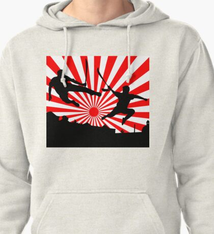 Swords At Dawn Pullover Hoodie