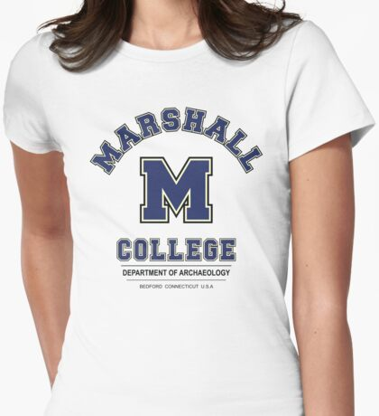 Indiana Jones - Marshall College Archaeology Department Variant Womens Fitted T-Shirt