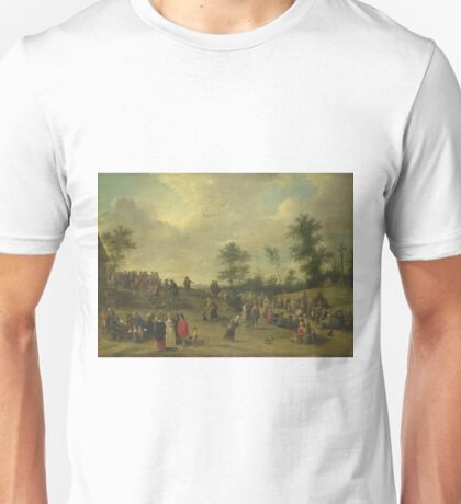 David Teniers The Younger - A Country Festival Near Antwerp Unisex T-Shirt