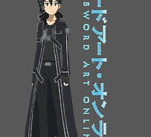 Sword Art Online- Kirito by SpankyOBrien