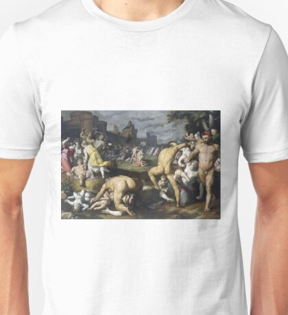 Cornelis Cornelisz. Van Haarlem - The Massacre Of The Innocents, 1590 Unisex T-Shirt