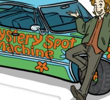 The Mystery Spot Machine Sticker
