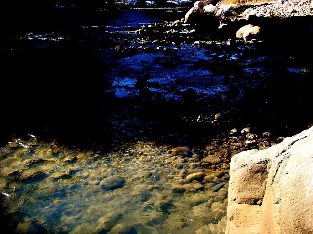 Dark end of the stream by diongillard