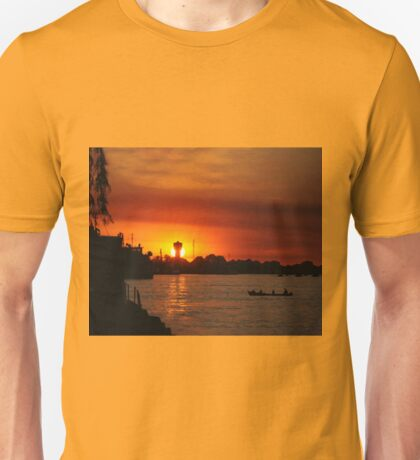 Sunset in the Danube Delta Unisex T-Shirt
