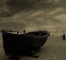 Canoe Brighton England by Zoltan