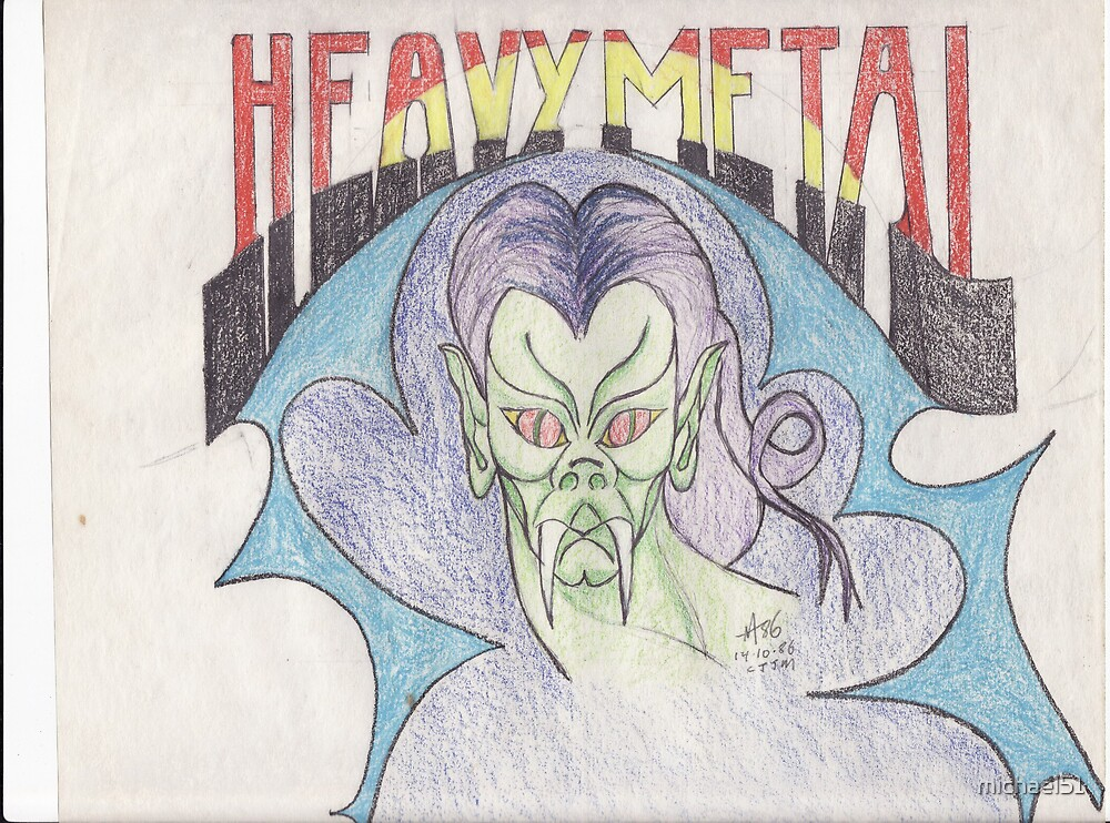heavy metal 1 by michael51