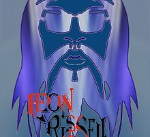 Leon Russell - 2011 Rock and Roll Hall of Fame Artwork by L. R. Emerson II by L R Emerson II