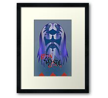 Leon Russell - 2011 Rock and Roll Hall of Fame Artwork by L. R. Emerson II Framed Print