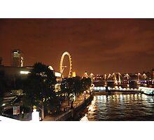 London at Night Photographic Print