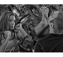 ☝ ☞ STRIFE ~  YOUR WALKING ON THE FIGHTIN SIDE OF ME ☝ ☞  Photographic Print