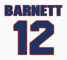 Basketball player Dick Barnett jersey 12 by imsport