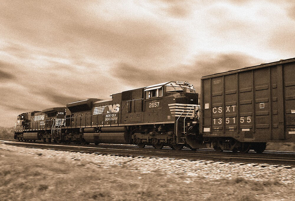 NORFOLK SOUTHERN by Rod  Adams