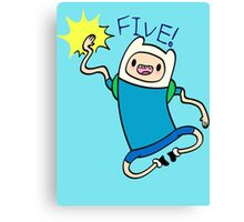 Finn High Five - Part 2 Canvas Print