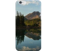 Reflections on Lake Garibaldi, Canada iPhone Case/Skin